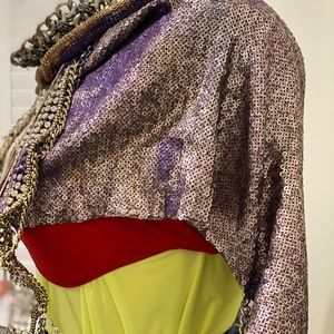 Chained UP NYE Statement Cape OS